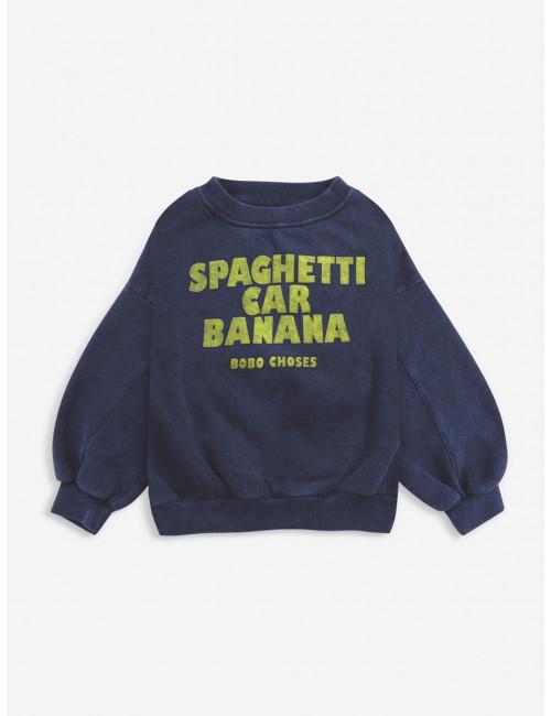 Spaghetti Car Banana Sweatshirt
