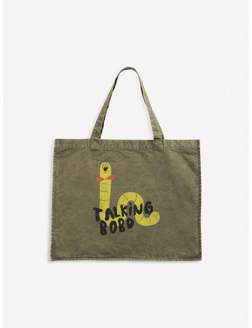 Scholar Worm Tote Bag
