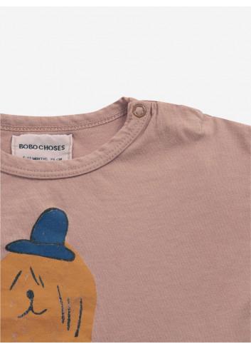 Dog In The Hat Lange Mouwen T-Shirt