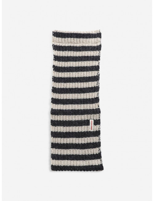 Stripped Gebreide Sjaal
