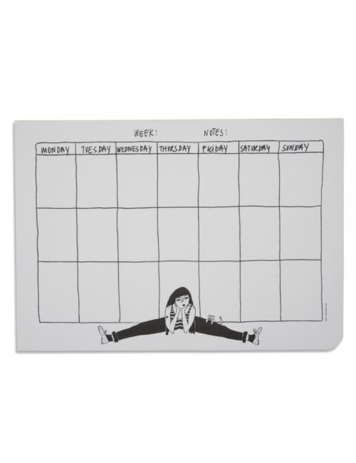 Weekplanner - flexible fiona