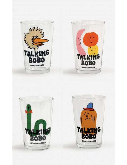 Bobo Choses Glazen (set van 4)