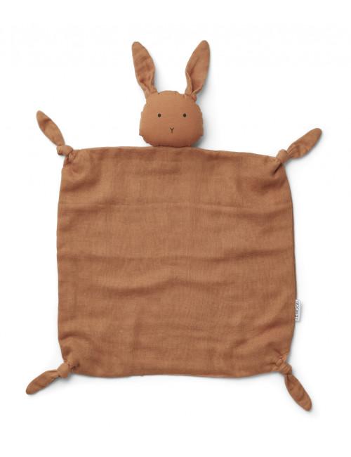 Knuffeldoekje Agnete   konijn sienna