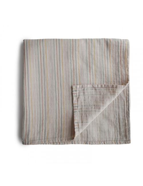 Hydrofiele doek (120x120cm) | retro stripes
