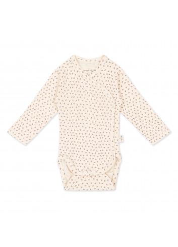 Overslagrompertje Newborn | tiny clover beige