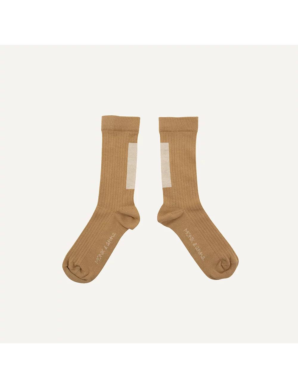Sokken Graphic Shape | wheat & milk