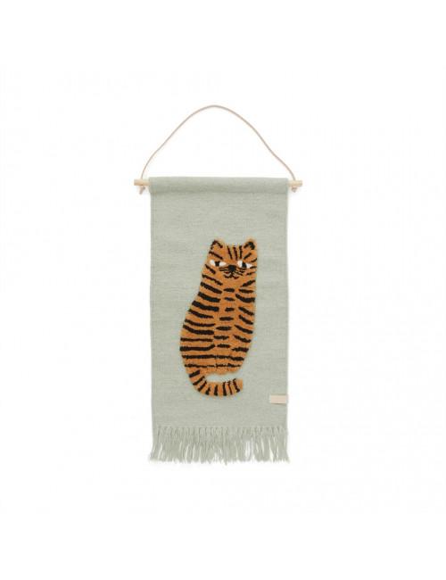 Muurtapijt   tijger