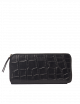 Portemonnee Sonny | zwart klassiek croco leer