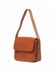 Handtas Gina | cognac classic leather