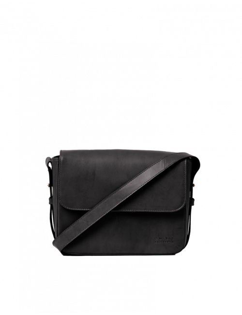 Handtas Gina | zwart classic leather