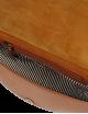 Heuptasje Laura | cognac checkered classic leather