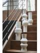 Speckled Clay Vase   angular m