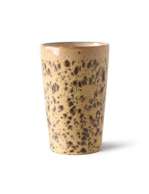 70's Ceramics Tea Mug | tiger
