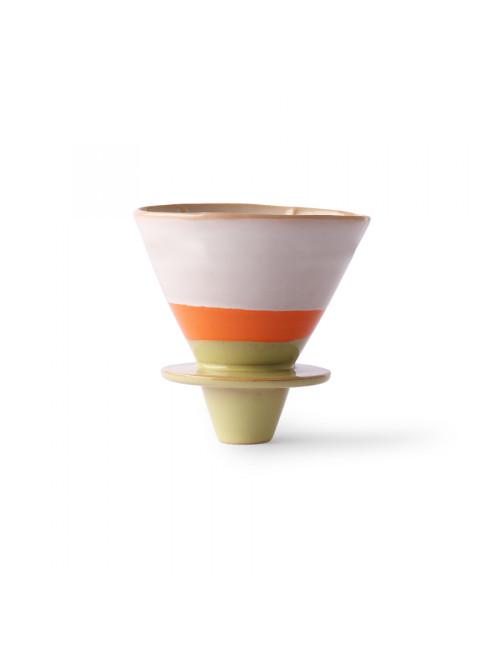 70's Ceramics Coffee Filter | saturn