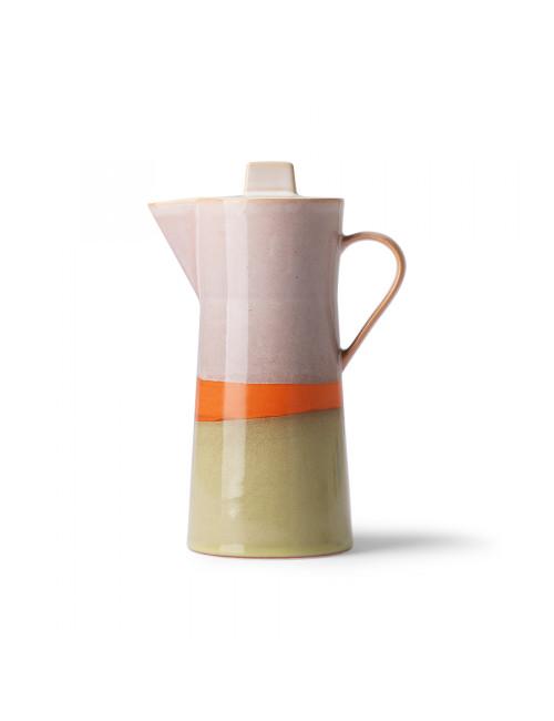 70's Ceramics Coffee Pot | saturn