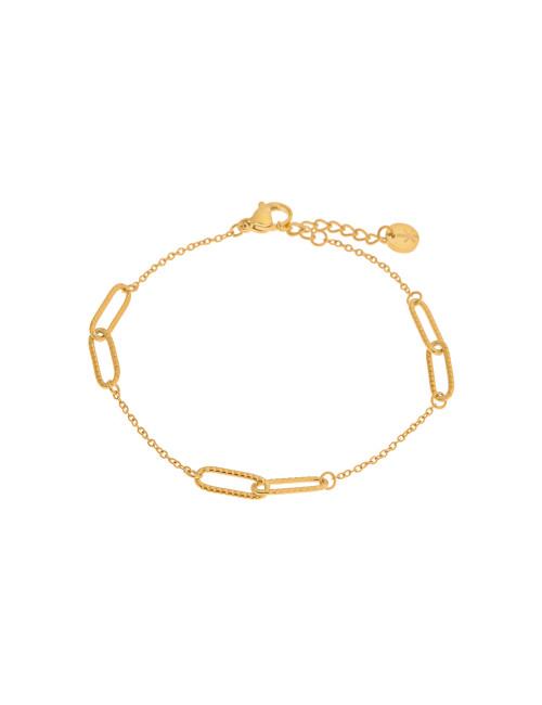 Armbandje Double Chain | goud