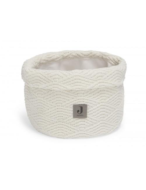 Commodemandje | river knit cream white