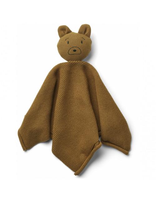 Milo Knuffeldoekje | mr bear golden caramel