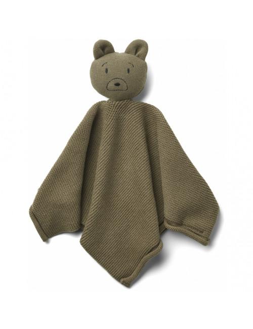 Milo Knuffeldoekje | mr bear khaki