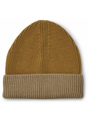 Ezra Beanie | golden caramel oat mix