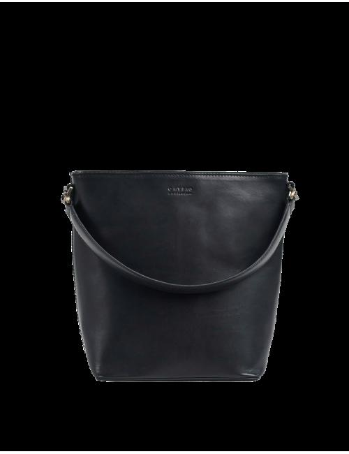 Handtas Bobbi Bucket Bag Maxi | black classic leather