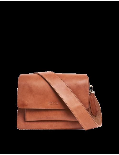 Handtas Harper | cognac classic leather