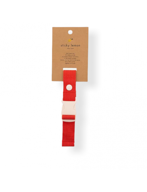 Chest Strap | apple red