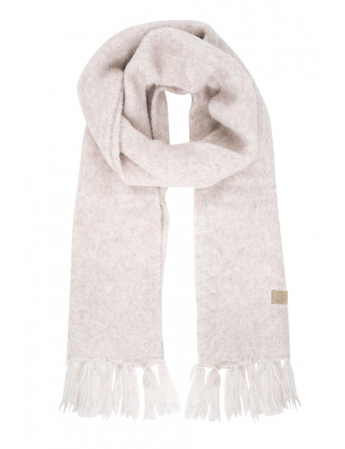 Sjaal met Franjes | creme