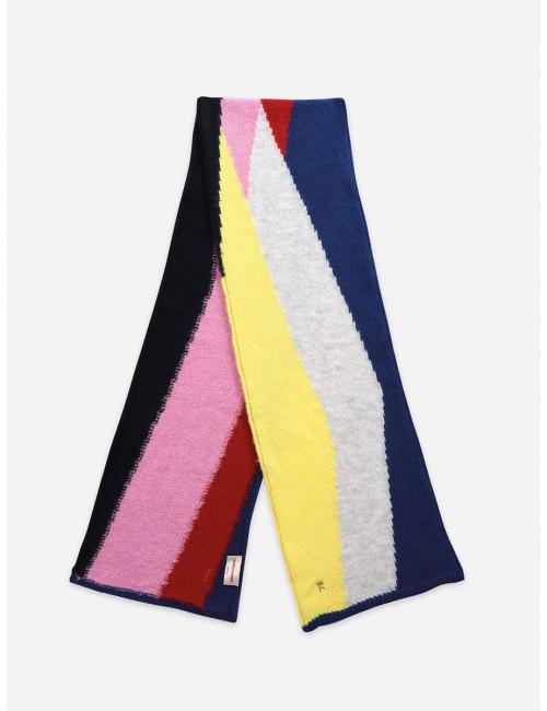 Gebreide Sjaal   multicolor