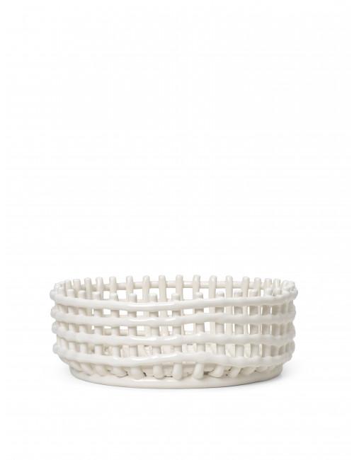 Fruitschaal Ceramic Centrepiece | offwhite