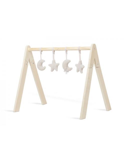 Babygym Speeltjes (set van 4) | maan/nougat