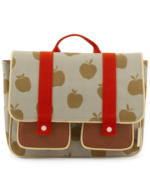 Schooltas Special Edition Apples | pool green/leaf green/apple red