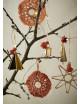 Kerstdecoratie   hanger met bel