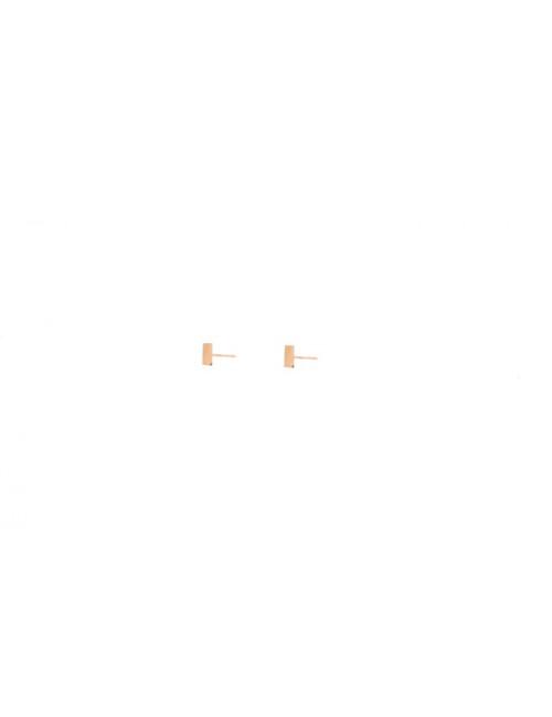 Oorbellen (set van 2) Goud 14K | small bar