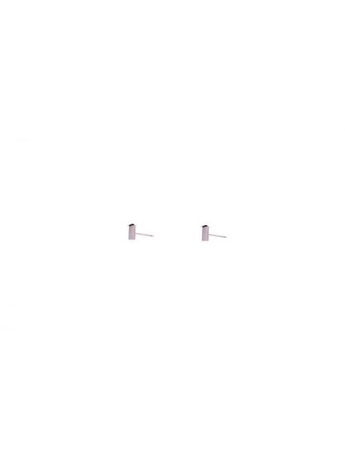 Oorbellen (set van 2) Zilver | small bar