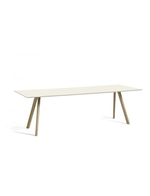 CPH 30 tafel L250 cm | gezeept eik/off-white linoleum