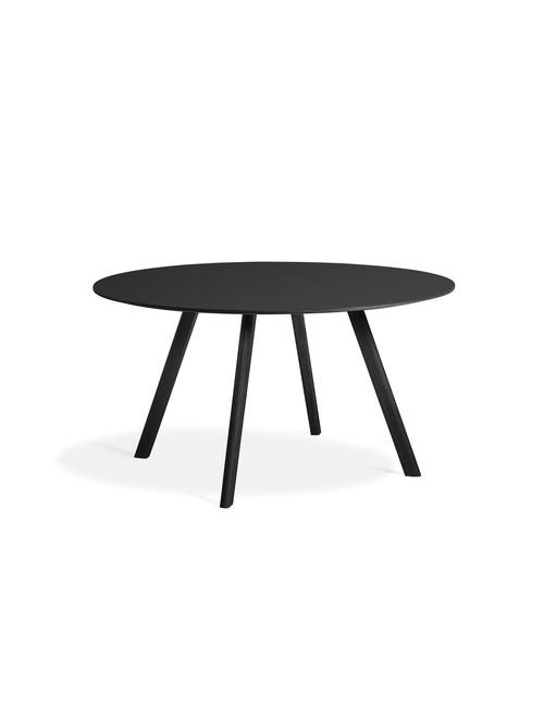 CPH 25 tafel Ø140 | zwarte eik/zwarte eikenfineer