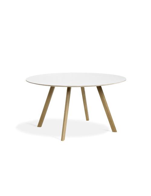 CPH 25 tafel Ø140 | eik/witte linoleum