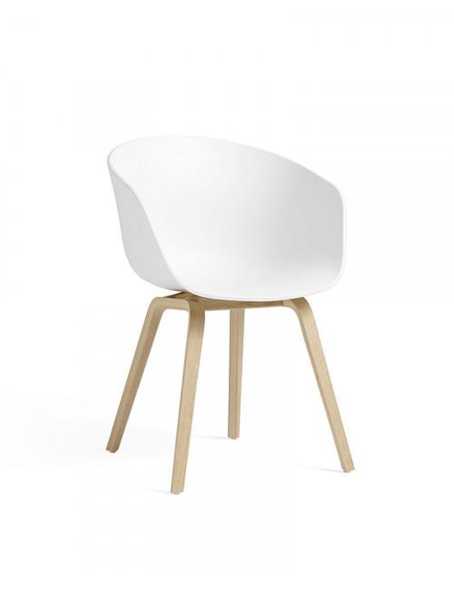 AAC 22 stoel | eik/wit