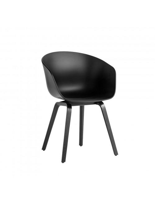 AAC 22 stoel   zwarte eik/zwart