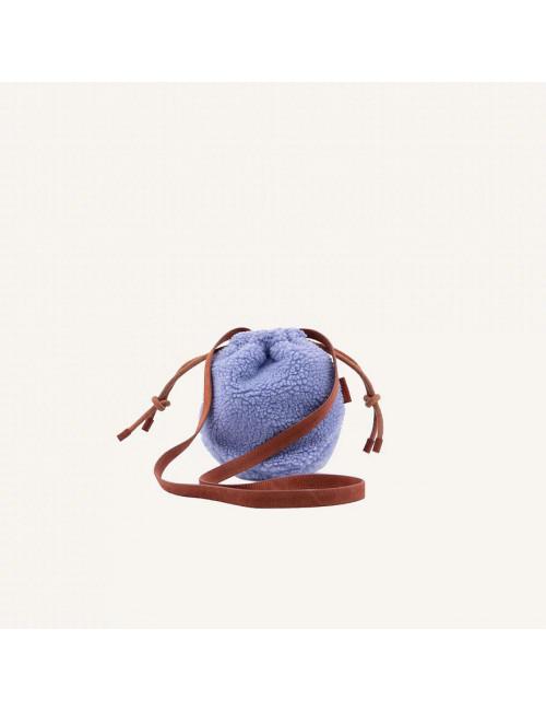 The Sticky Sis Club Pouch Rugzak Teddy | cornflower blue + brick red
