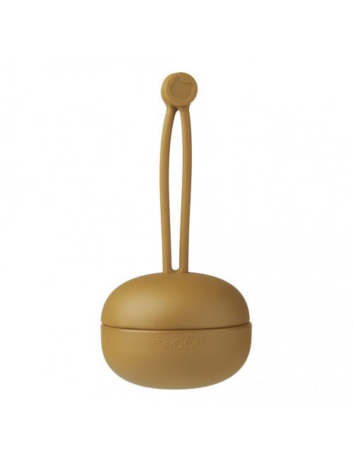 Fopspeenhouder Philip | golden caramel