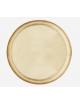 Rond Dienblad | goud/gehamerd